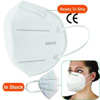 China Flu N95 Face Mask , N95 Carbon Filter Mask 3ply Niosh OEM ODM CE Certification on sale