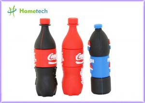 China Pepsi bottles PVC Customized USB Flash Drive / gift Personalised Usb Memory Stick on sale