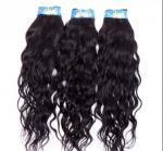 Extensões encaracolados brasileiras pretas naturais do cabelo humano nenhum derramamento de nenhum dano