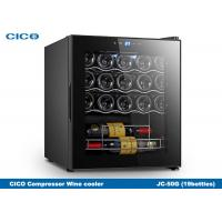 Integrated 24 Inch Semiconductor Electric Wine Cooler Customized Size