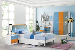 China latest wooden bed designs baby bedding sets wooden single bed with drawer 106 on sale