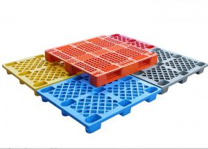 China Pallet 1200*1000 europe hygienic large black used plastic pallets for sale using on warehouse and transport on sale