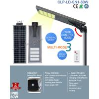 2017 Top Sale Outdoor IP65 Bridgelux 80W LED Solar Street with Patent Smart MPPT Controller