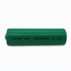 China Cost Effective NiMH AA 1.2V 1800mAh Battery Cell on sale