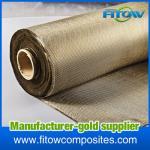 Tissu/tissu de haute qualité de fibre de basalte d'isolation pour la carrosserie/renfort de réservoir/bateau/matrices