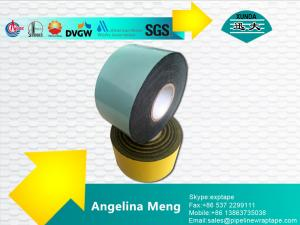 China 白い自己接着瀝青テープ/1.5mm 厚い自己接着磁気録音テープ on sale