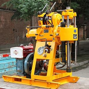 China 100 Meter Drilling Depth Engineering Drilling Rig / Truck Mounted Drilling Machine on sale