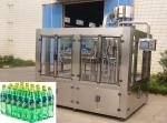 Automatic Glass Bottle Sparkling Water / Soft Drink Filling Machine For PET Bottle