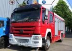Professional Water Tank Fire Fighting Vehicle Rescue Fire Engine Truck for Sale
