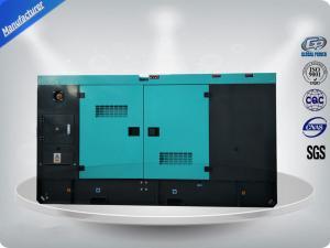 China New Design Canopy 20 KVA - 250 KVA Silent Diesel Generator Set Humanized Operation on sale