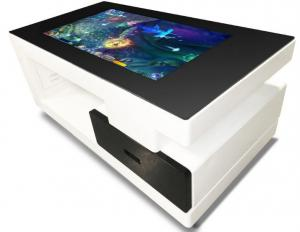 China TFT Commercial Multi Touch Screen Table 43 Inch Digital Totem Touch Smart Table on sale
