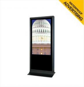 China Stand Alone Outdoor LCD Advertising Display , Subway / Airport / Bank Digital Signage on sale