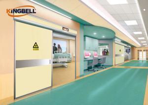 China Hospital ICU Automatic Sliding Door Anti Ray X-Ray Operating Room on sale