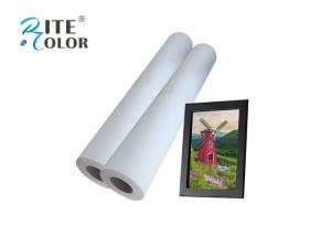 China 24 100ft Matte Coated Paper Roll For Inkjet Printing on sale