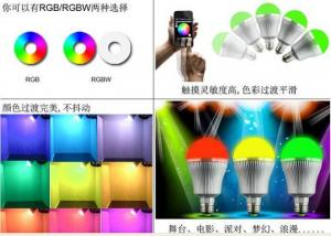 China Bluetooth LED Bulb, Dimmable Light Bulbs, Home Automation System on sale