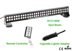 China 5700lm Led Work Lamps Spot Off Road Led Light Bars Remote Control on sale