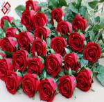 China high quality single stem artificial silk rose wholesale