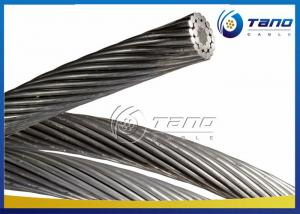 China Bare ACSR Aluminum Conductor For Overhead Transmission Line Single Core on sale