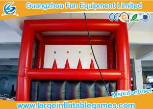 China Safe PVC Inflatable Archery Game , Kids Archery Inflatable Shooting Target on sale