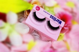 China Permanent Curly Natural False Eyelashes For Celebrity Makeup , Thick on sale