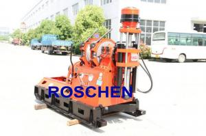 China Zimbabwe Bore Hole Drilling For 200mm To 300mm Holes Portable Hydraulic Water Well Drilling Rig on sale