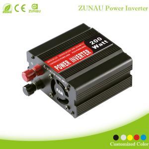 China Convenient Practical 200W Watt Car Mobile Power Inverter Converter DC 12V to AC 220V Adap on sale