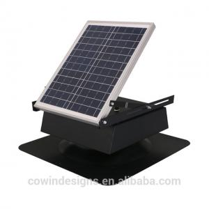 China 25W9inch Solar Powered Attic vent Fan with dc brushless motor on sale