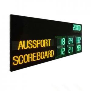 China Australia AFL Electronic Scoreboard With Led Name 1200MM X 3000MM X 100MM on sale