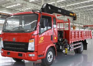 China Saving Energy Truck Mounted Crane With Dual Circuit Compressed Air Brake on sale