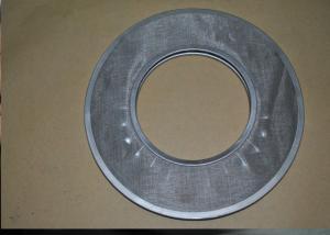 China Forme ronde de disque de filtre de grillage d'acier inoxydable d'industries avec le trou on sale
