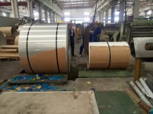 China Hot Rolled And Cold Rolled Stainless Steel Coils 304 301 201 316L 409L 430 on sale