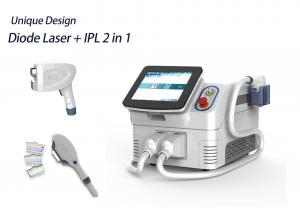 China 2 In 1 Multi Functional Ipl Laser Machine Humanized Menu Easy Operation on sale