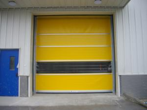 China Remote Control Industrial High Speed Door on sale