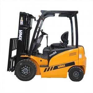 China 2.5T electric forklift with AC motor for driving and DC motor for lifting on sale