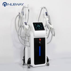 China Beijing Nubway 4 handkes cryo machine Vertical criolipolisis machine freeze fat criolipolisis on sale