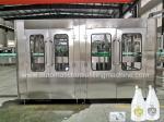 380V 220V High Speed Soft Drink Production Line Plants In Glass Bottles
