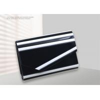 Modern Acrylic Ladies Envelope Clutch Bag Black And White Colors For Party