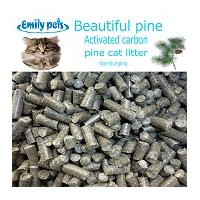 Activated Carbon Pine Cat Litter
