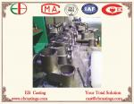 Bastidores de aluminio EB9081 de la válvula de ZAlSi9Mg