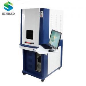 China 20w/30w/50w marking led bulb/pvc/oil coated surface fiber laser marking machine on sale