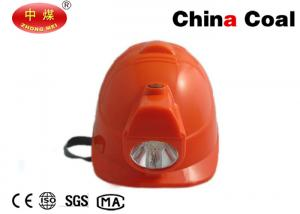 China Industrial Mining Equipment Cordless 1W LED Cap Lamp Eco-friendly Miner Lighting Fixtures on sale