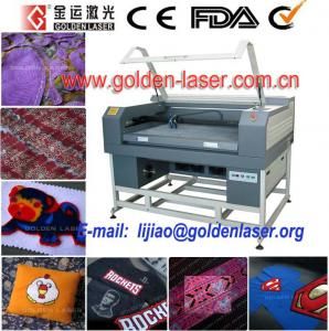 China Small Laser Cutting Machine For Kintted Fabric on sale