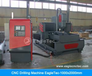 China CNC Drilling Machine for Plate & Rectangular Tube Metal Steel Iron Tapping & Drilling 1000x2000mm on sale