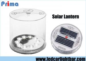 China Inflatable LED Solar Lantern / Mobile Phone USB Battery Outdoor Solar Lights on sale