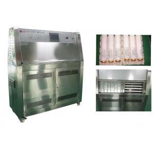 Programmable UV Testing Equipment , Accelerating Aging Tester Plastic Testing