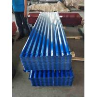 China 24 Gauge ASTM CGCC Galvanized Metal Panels Corrugated Steel Roof Sheets on sale