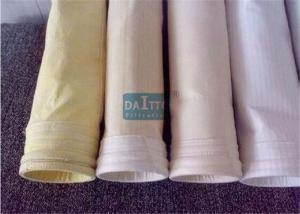China Fiberglass Mix PPS Industrial Filter Bags Carefully Fabricated Ensuring Dust Tight Seal on sale