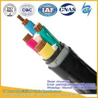 Hot Supplier 3x120+1x70mm2 XLPE PVC Insulated Steel Tape Armoured Power Cable