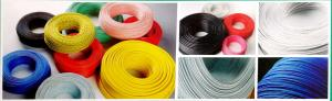 China Red UL AWM 3135 Silicone Rubber-Insulated Wire 600v  18AWG tinned copper conductors fibre glass braid on sale