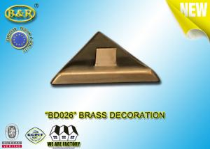 China Ref No BD026 Brass Decoration Tombstone Lamp Base Material Copper Alloy Size 12.5×4cm on sale